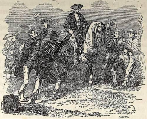 Zumalakarregi tras la toma de Etxarri-Aranatz.