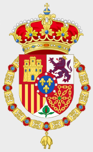 Escudo Real de SM Don Carlos Javier I