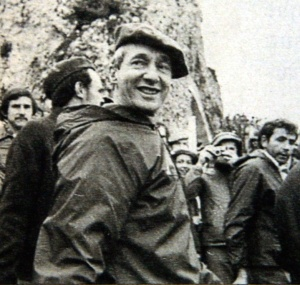 Carlos Hugo, en el acto carlista. Cesión del PC