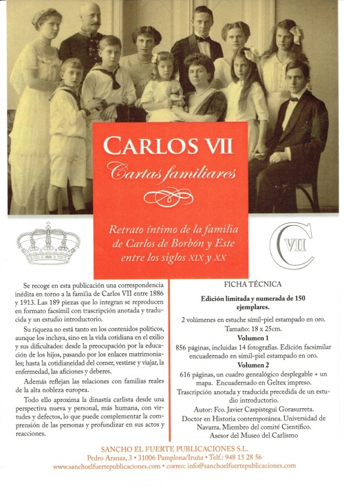 CARLOS VII CORRESPONDENCIA